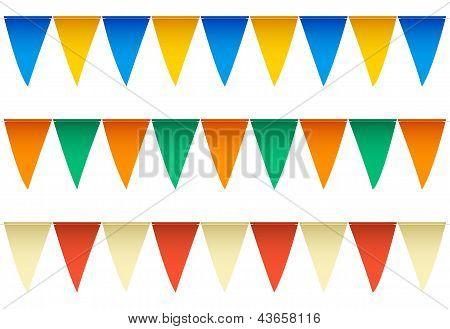Swimming Pool Backstroke Flags