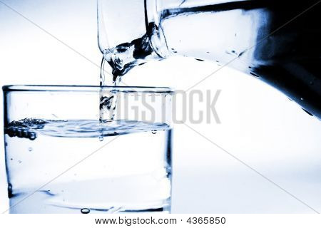 Pouring The Water