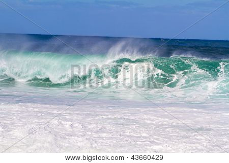 Huge Sets Of Waves In Oahu