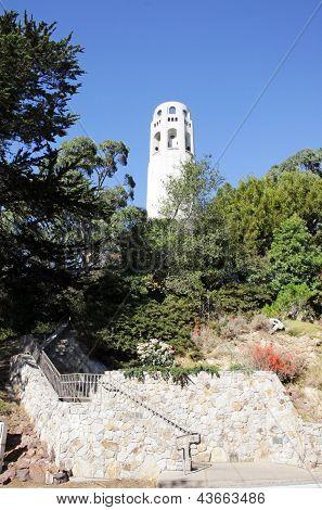 Telegraph Hill em São Francisco, EUA