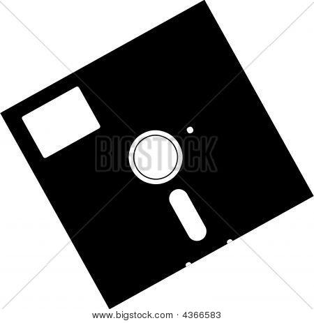 Old Vector Floppy Disk