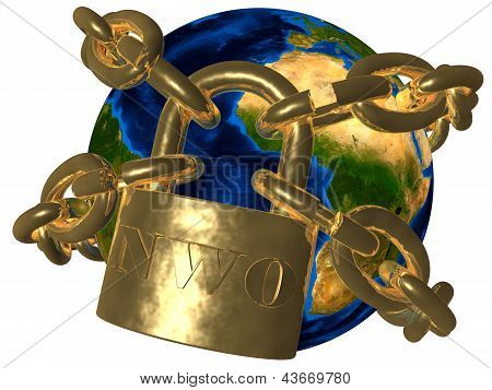 Earth Breaking Golden Chain Of New World Order (nwo)