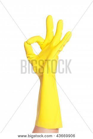 Okay gesture