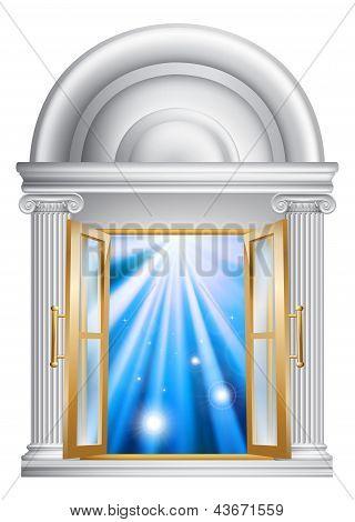 Marble Door Entrance