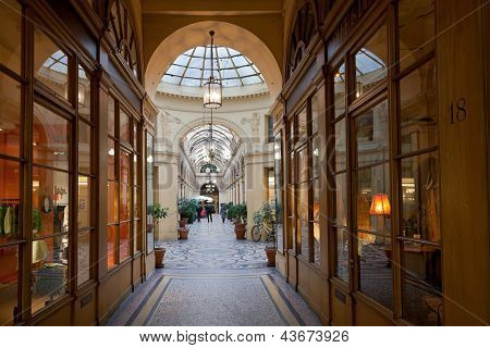 Galerie Vivienne - paso en París