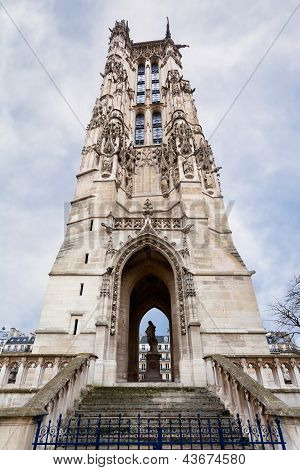 Saint-jacques Tower In Paris