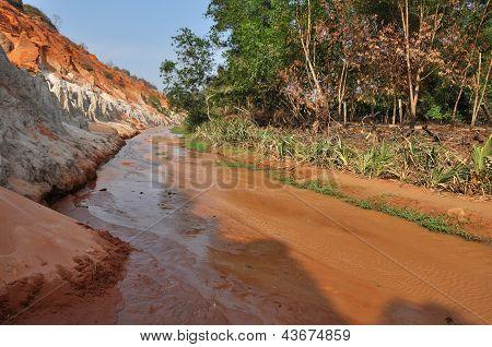 The Fairy stream near Mui Ne, Vietnam