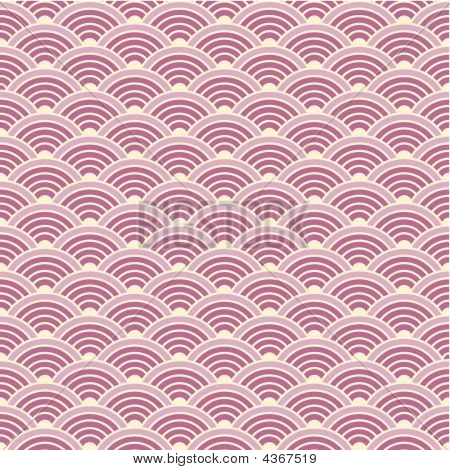 Seamless Background Of A Scaly Pattern