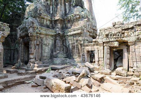 Preah Pithu In Angkor, Cambodia