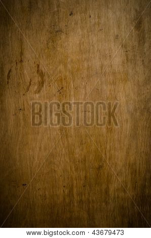 Grungy Old Wood Panel