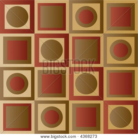 Seamless Tiling Squares And Circles