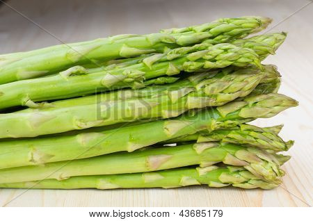 Bunch Of Green Asparagus