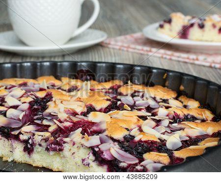 Tasty Cake With Frozen Berries