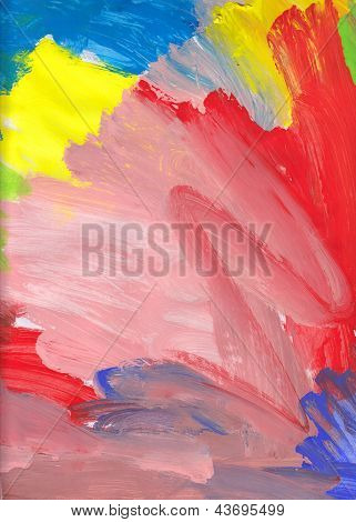 Colorful Watercolors Background