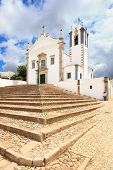 Portuguese Church Igreja Sao Martinho De Estoi Landmark, Algarve poster