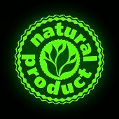 Logo Printing Brand Natures Product poster