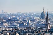 Paris Skyline With Hotel Des Invalides