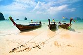 picture of under sea  - Tropical beach landscape - JPG