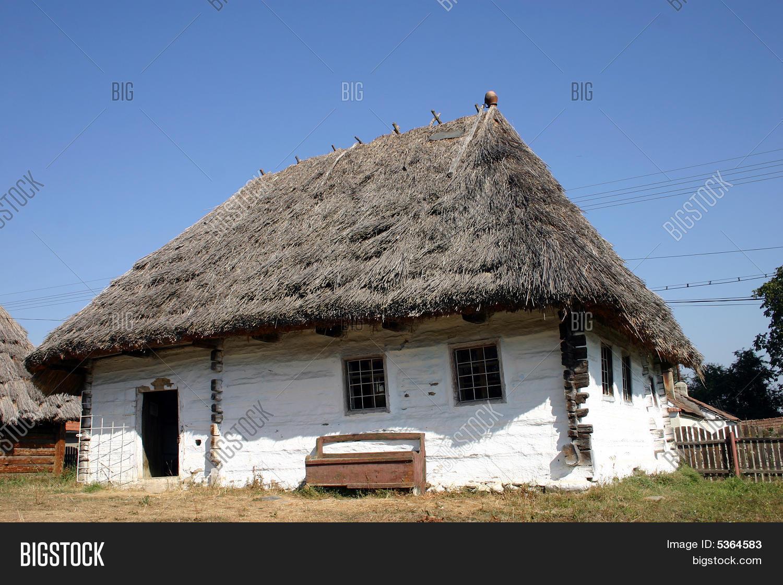 Peasant house image photo bigstock - Romanian peasant houses ...