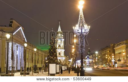 Christmas In St. Petersburg