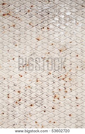 Gray Metal Plate Background Texture
