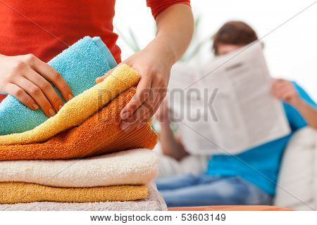 Unfair Distribution Of Household Duties