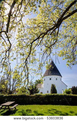 Round Church Ols Kirke St. On Bornholm