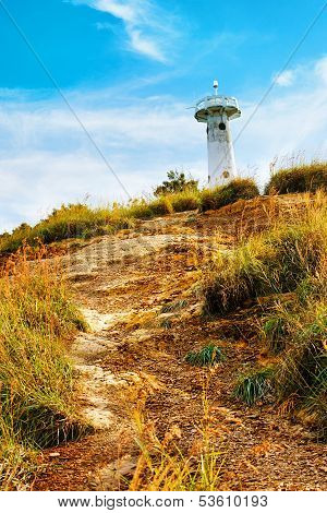 Lighthouse on a Hill