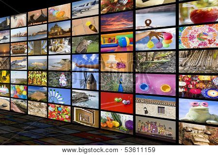 Hdtv Entertainment Concept