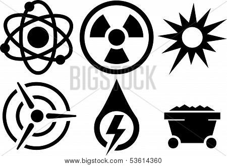 Vector Energy Icons