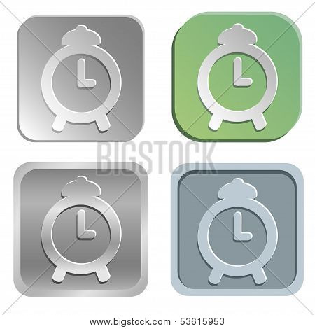 Alarm Clock Buttons