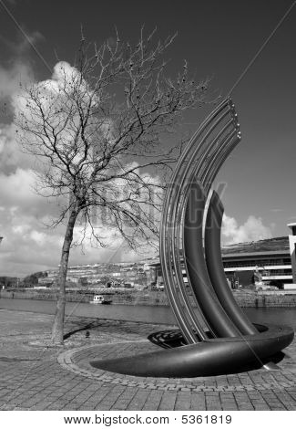 Public Art And Echoing Tree