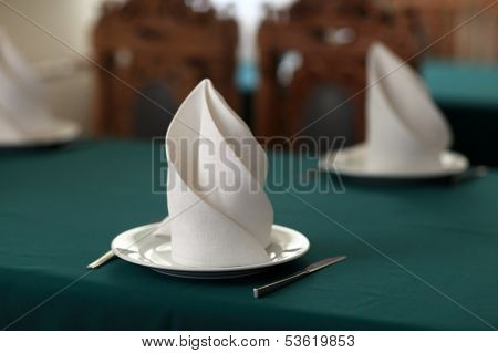Table Setting For Two Persons