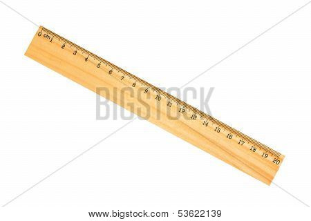 wooden school ruler