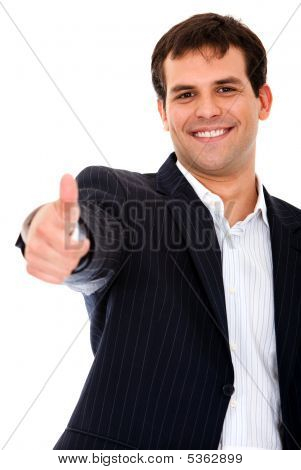 Business Man - Thumbs Up