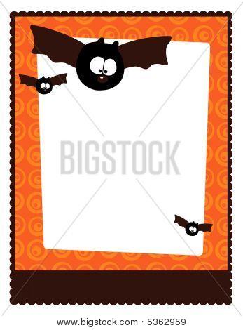 8.5x11 Flyer Template wit bats