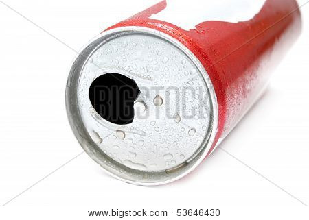 Opened Drink Can