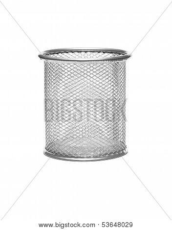 Metal Wastebasket