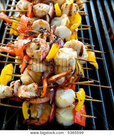 Seafood Kabobs