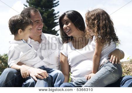 Family Enjoying Together