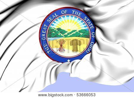 State Seal Of Ohio, Usa.