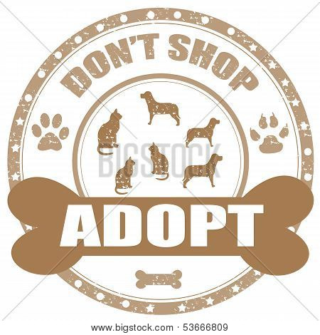 Adopt-stamp