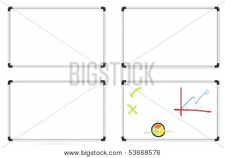 Set Of Whiteboards