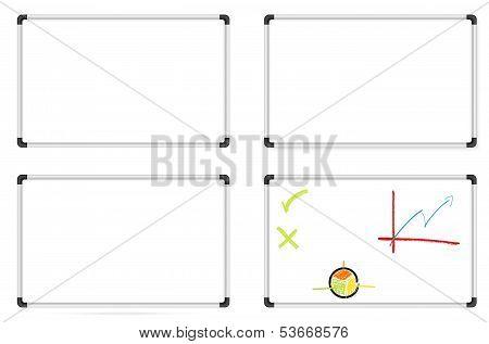 Set Of Whiteboards