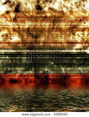 High Tech Grunge Metalilc Background