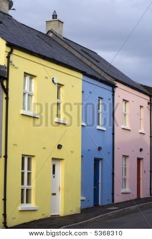 Pastel Housefronts