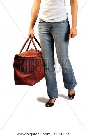 Walking With The Bag