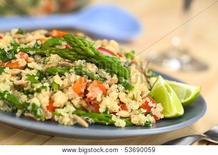 Quinoa with Vegetables