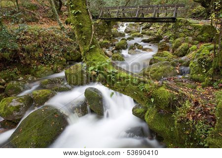 river in the portuguese national park of Geres, in the north of the country