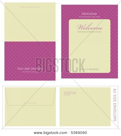 Special Event Templates Vector